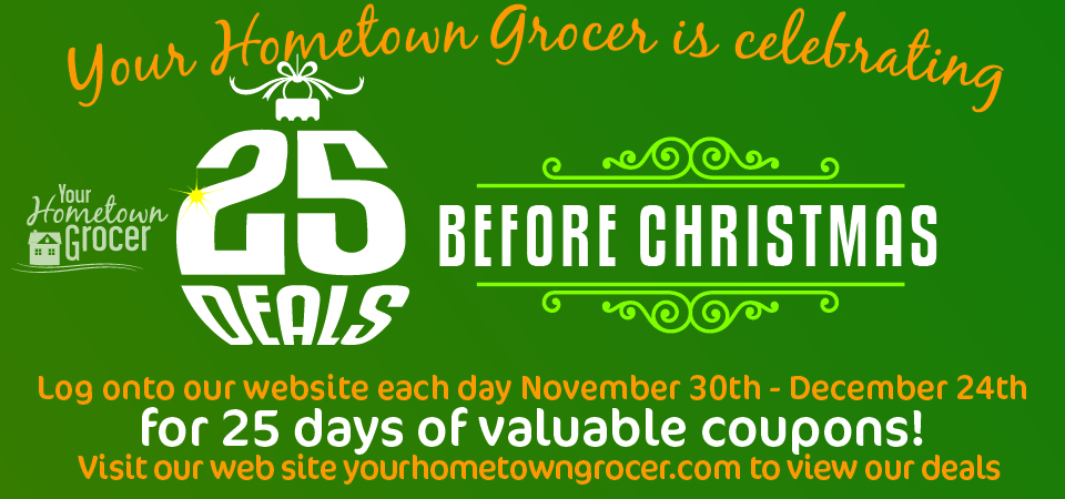 25 Deals Before Christmas!