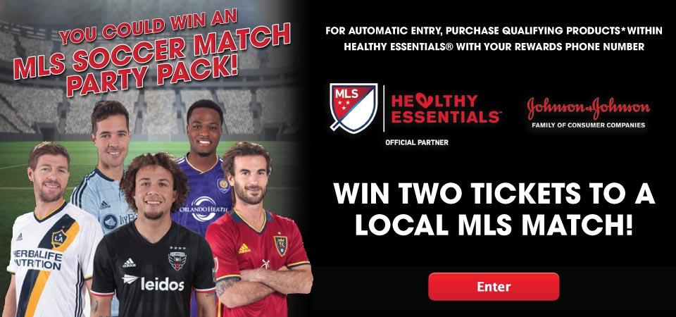 Win MLS Soccer Tickets