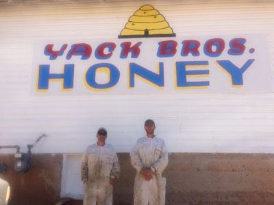 Yack Bros Honey