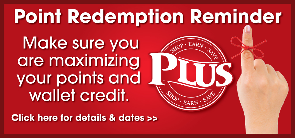 Point Redemption Reminder
