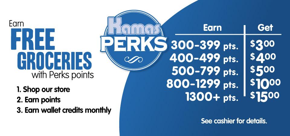 Earn and Save with Kamas Perks