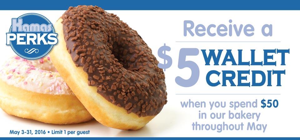 Earn a $5 Wallet Credit!
