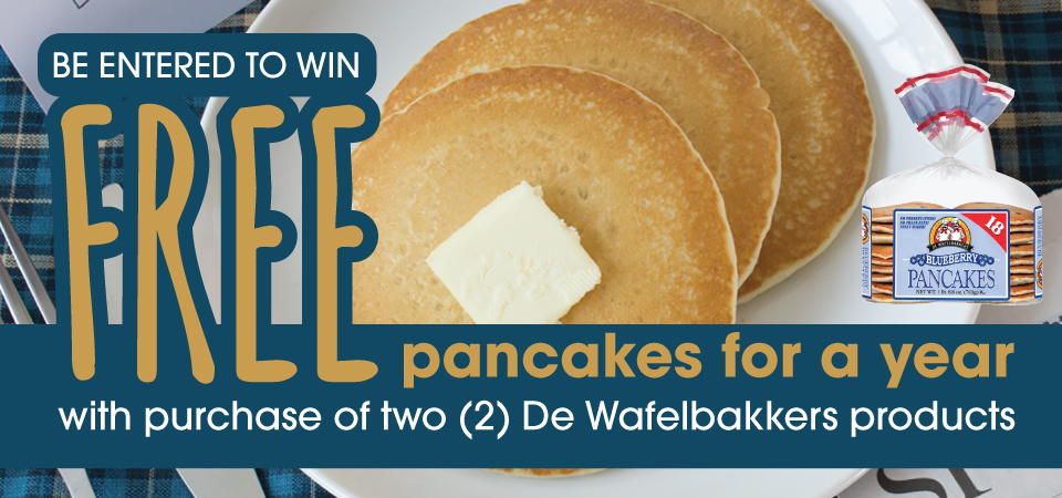 Win Free Pancakes for a Year!