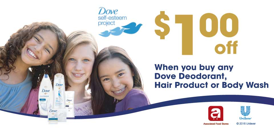 Save on Dove products
