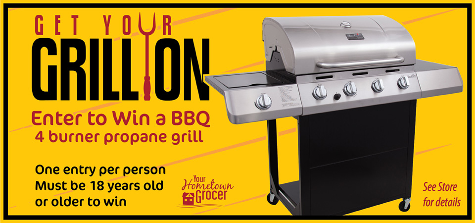 Get Your Grill On ~ Delta jubilee home