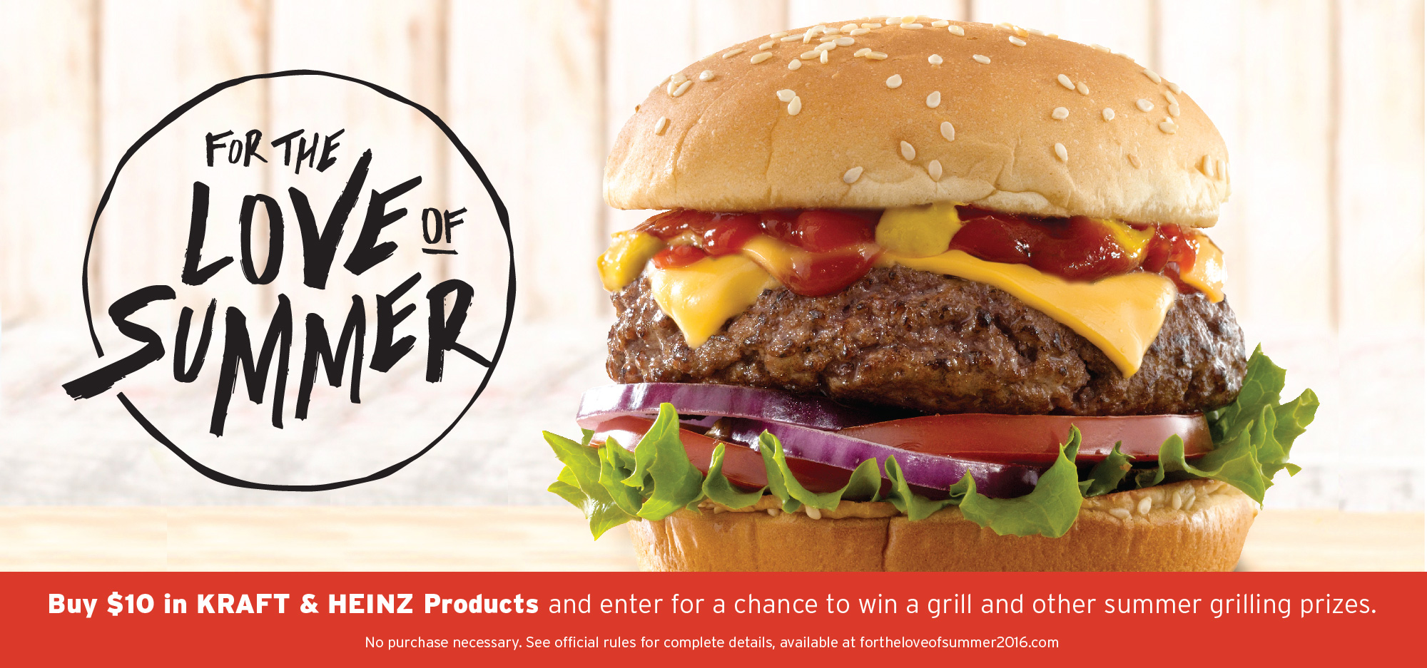 Enter to win a new grill