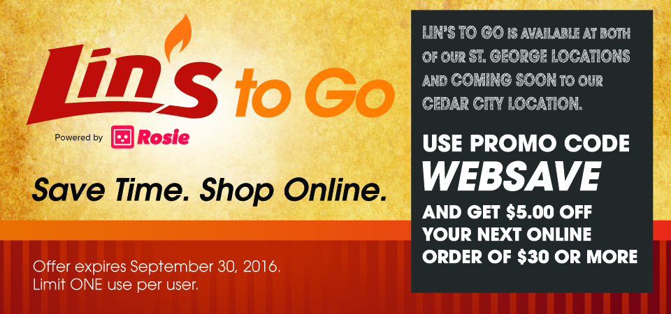Save Time.  Shop Online.
