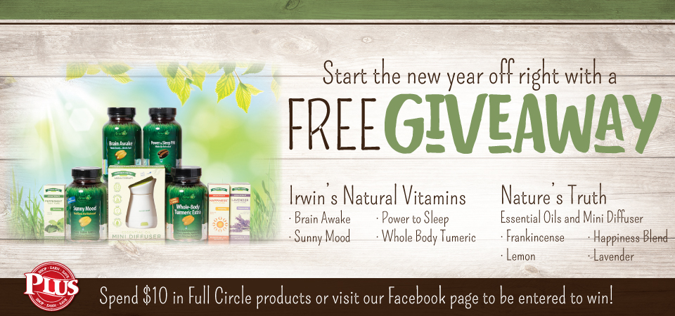 Irwin and Natures Truth Giveaway!