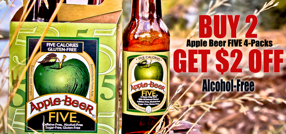 Save on Apple Beer just in time for Halloween!