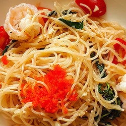 Linguini with Seafood Sauce