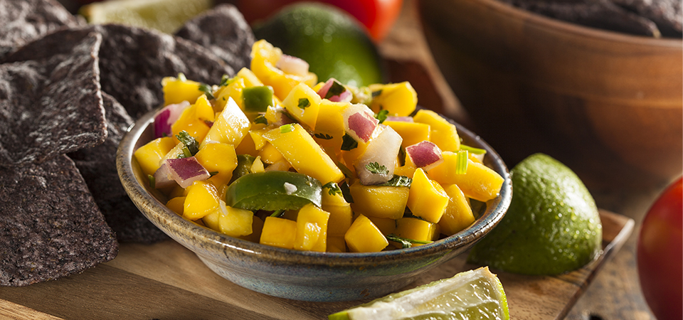 Fresh Pineapple Salsa Ole