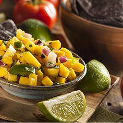 Fresh Pineapple Salsa Ole