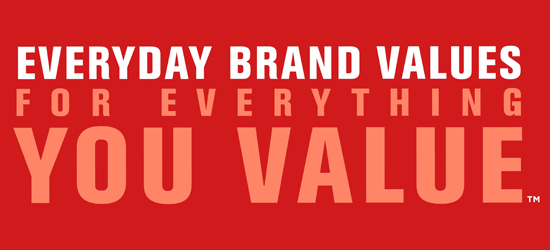 Everyday Brand Values