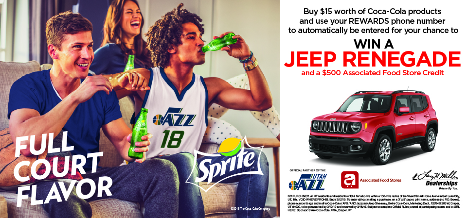 Enter for a chance to win a Jeep Compass and $500 ARO Gift Card!