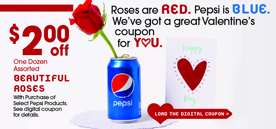 Valentine's Day Pepsi Deal