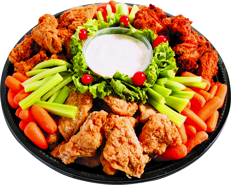 Hot Wings Tray
