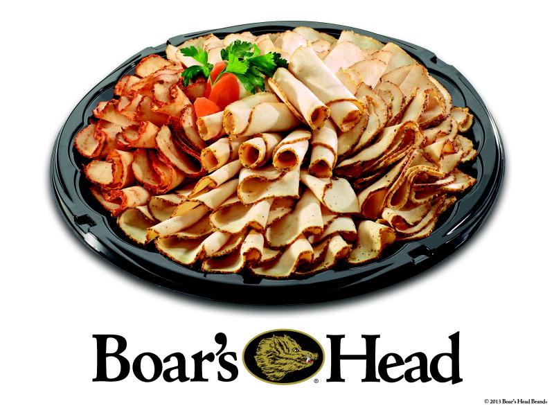 Boar's Head Sampler Meat Tray