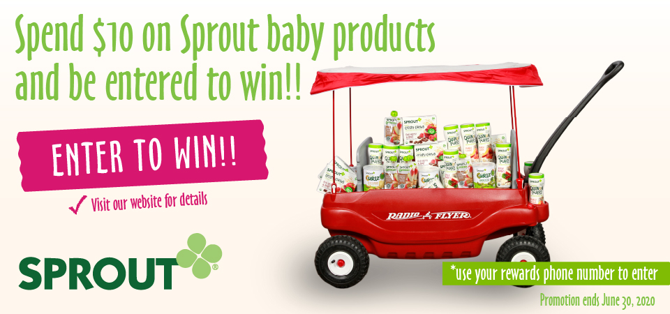 Enter to win Sprout Products!