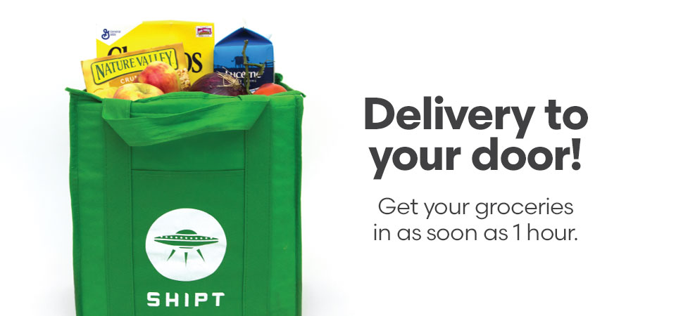 Grocery delivery now available from Shipt!