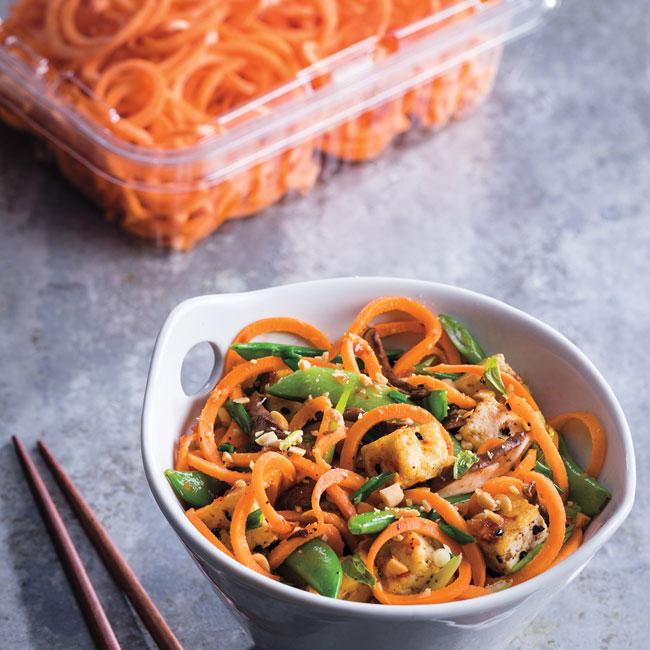 Asian Yam Noodles