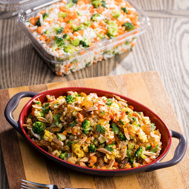 Moroccan Cauliflower Fried Rice