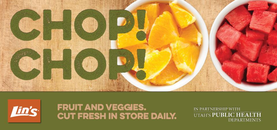 Fresh-cut fruits and veggies