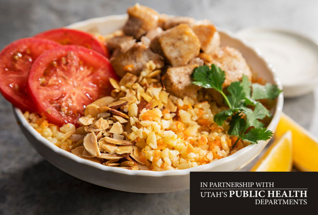 Chicken Biryani Buddha Bowl