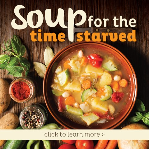 Soup for Time Starved